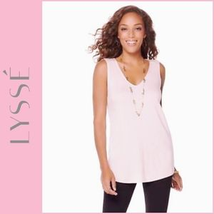 Lysse Soft Blush Essential Jersey Tank